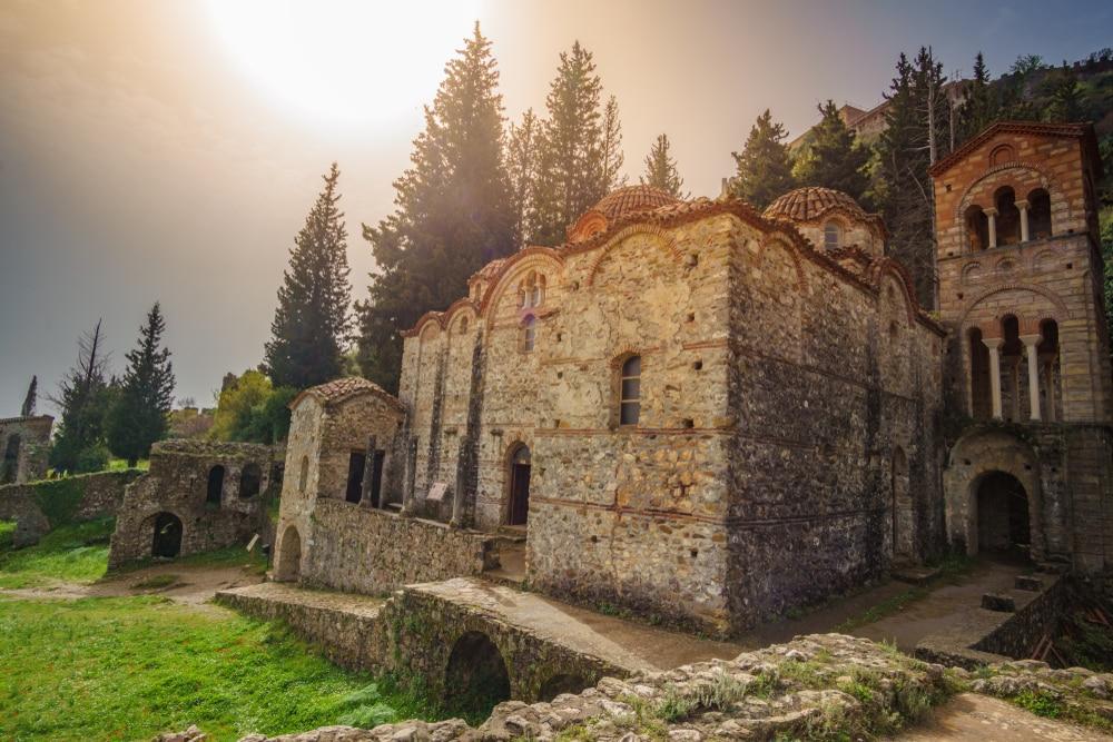 Le monastère du Brontochion à Mistra