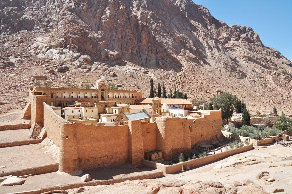 Visiter le monastère Sainte Catherine