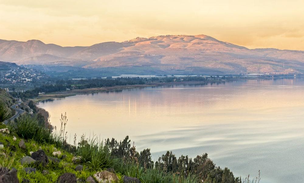 Mer de Galilée proche de Nazareth