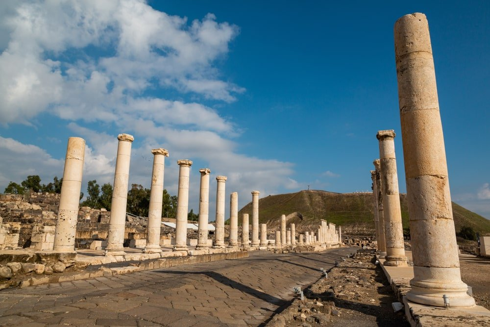 Sepphoris proche de Nazareth