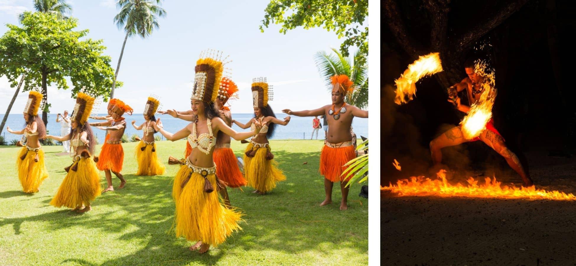 Les danses traditionnelles polynésiennes