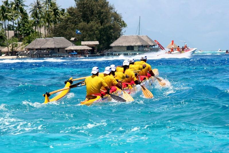 Célèbre course de pirogue : Hawaiki nui va'a