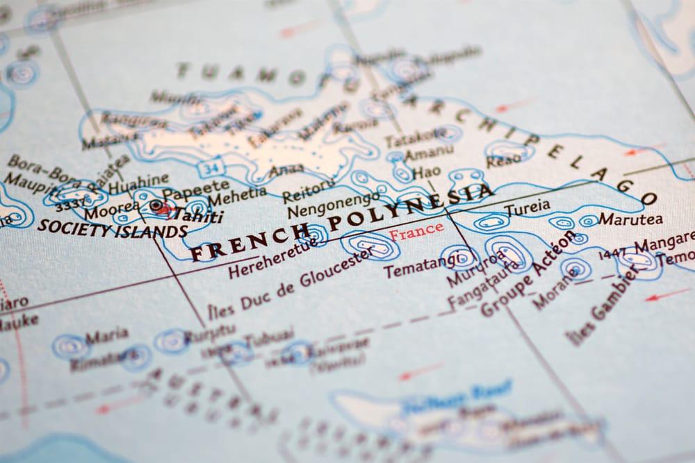Géographie de la Polynésie Française