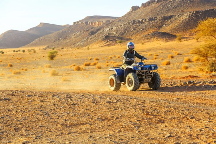 Faire du quad au désert Jbilets