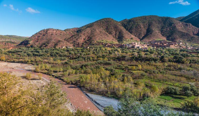 Balade en quad à la vallée de l'Ourika proche de Marrakech