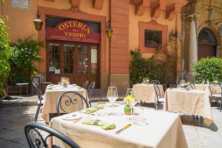 Osteria Dei Vespri manger à Palerme