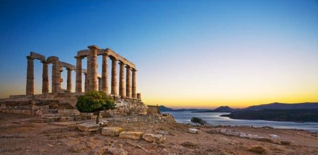 Visiter le Cap Sounion depuis Athènes : réservations et tarifs