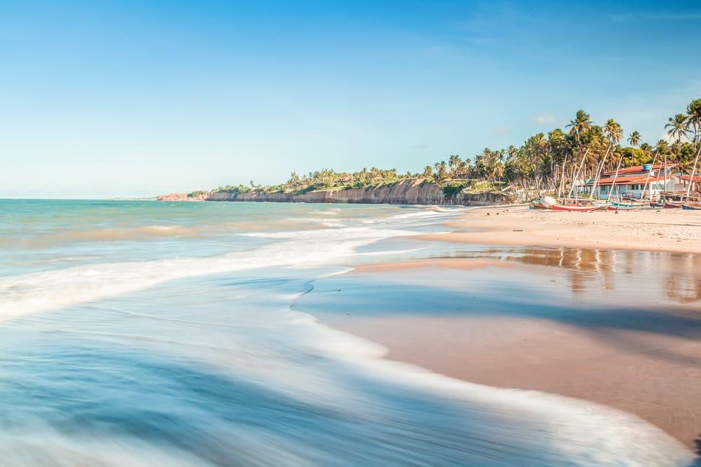 Plage sur les côtes brésiliennes, proche de Natal - photos brésil
