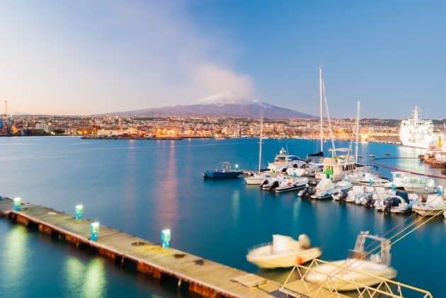 Location de bateau à Catane : comment faire et où ?