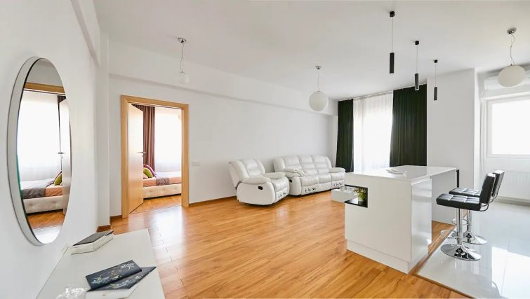 Luxury Modern Flat w/ Fireplace&Netflix -Best View