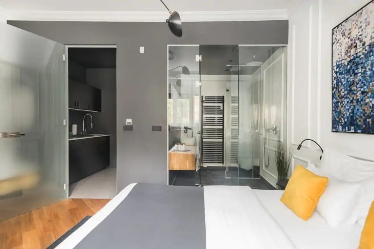 Chic, Central Apartment With a Private Patio