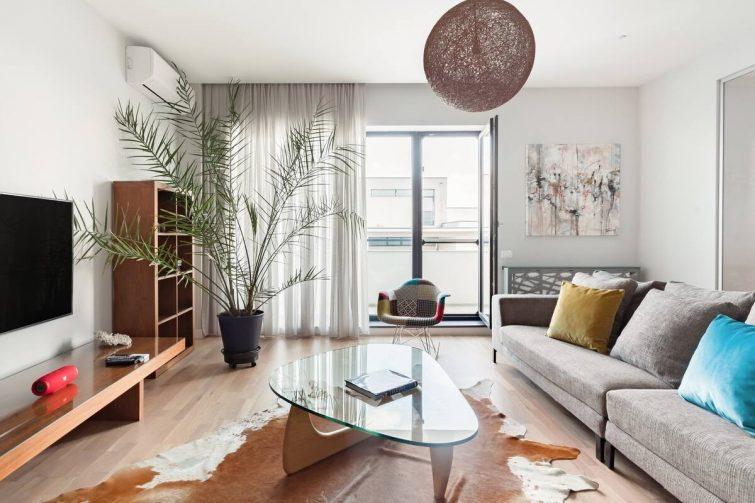 Appartement tranquille au design époustouflant