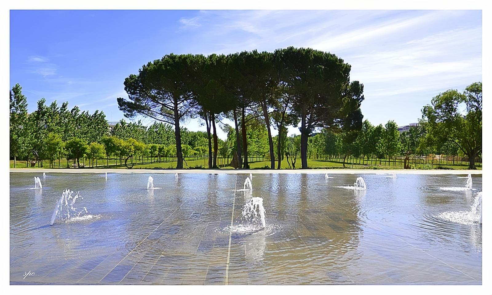 Parc Georges Charpak montpellier