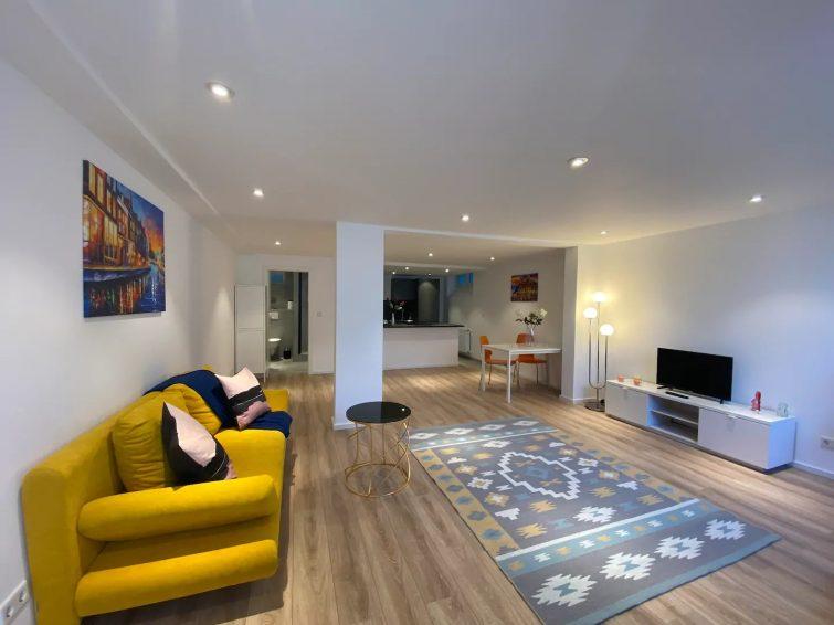 Appartement au sous-sol de la ville de Cologne