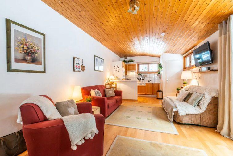 Appartement confortable aux Gets avec grand balcon
