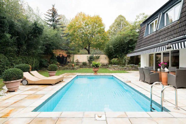 Appartement de luxe calme avec piscine