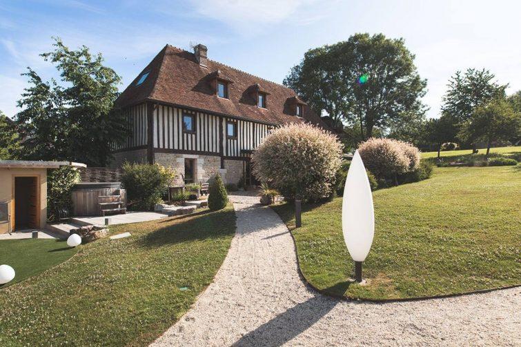 Belle maison en pleine nature