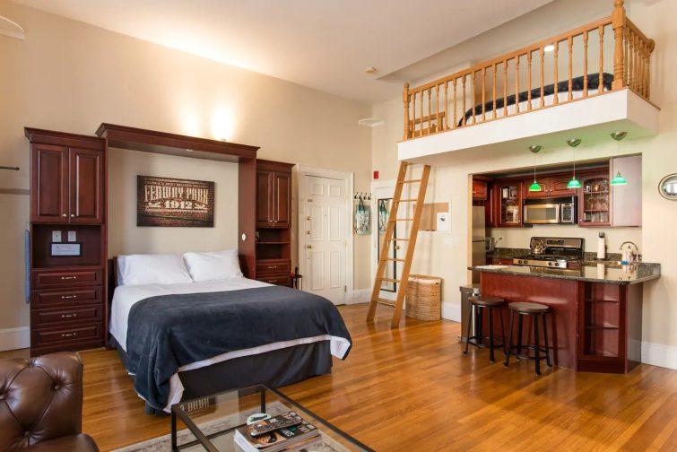 Chaleureux et confortable appartement avec place de parking