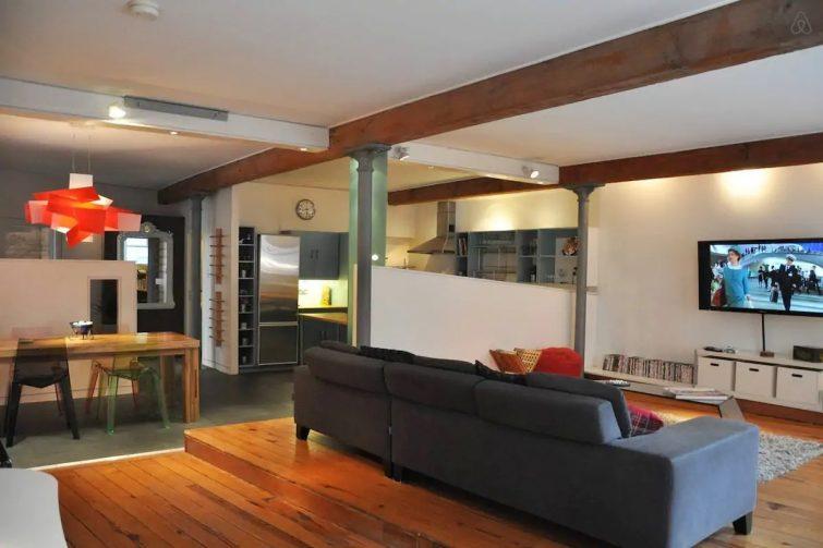 Incroyable loft avec parking gratuit