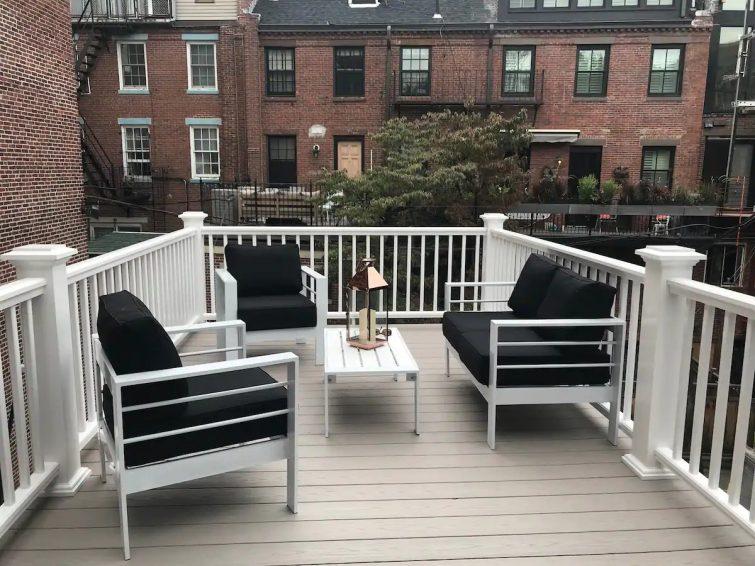 Location de charme avec terrasse privée
