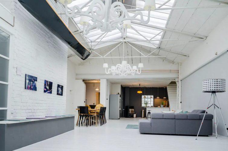 Loft style industriel moderne-airbnb-cologne
