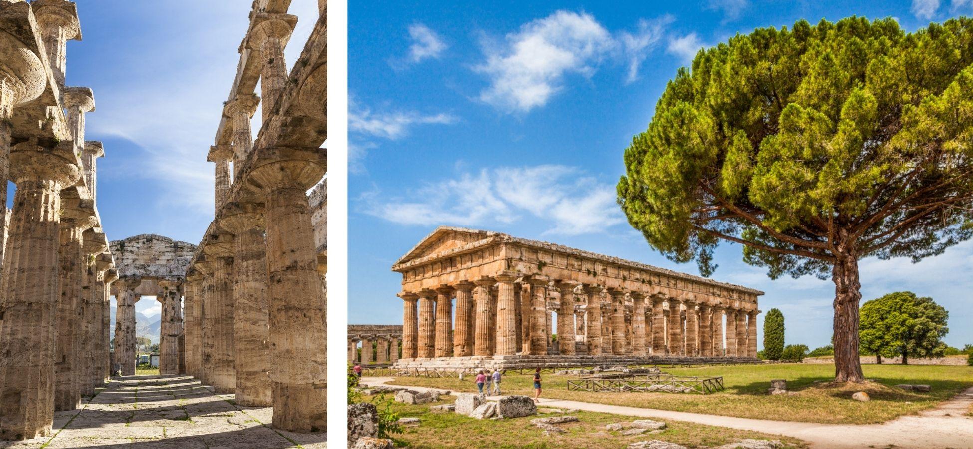 Paestum - sites archéologiques italie