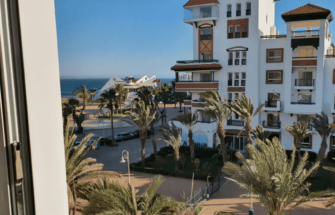 Appartement avec vue sur la mer