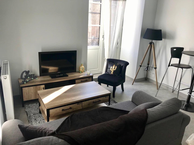 Airbnb cosy et confortable en plein cœur de ville