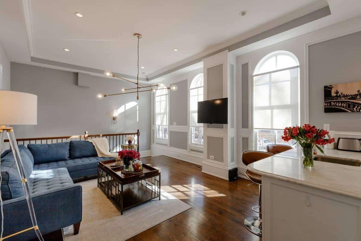 Appartement sophistiqué et lumineux près de Lincoln Park