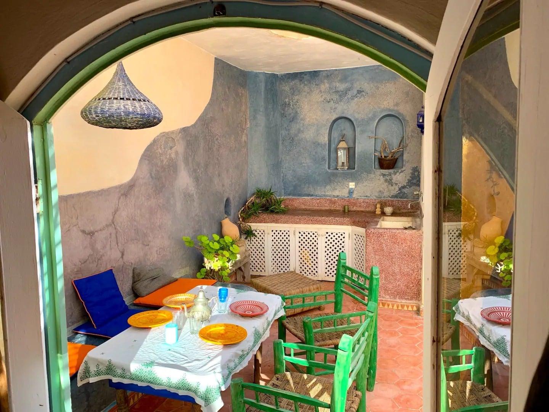 Maison de charme dans la Médina