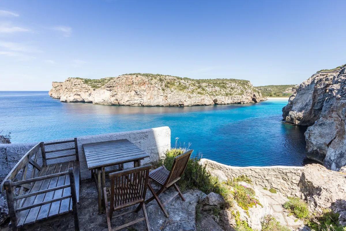 Airbnb à Minorque
