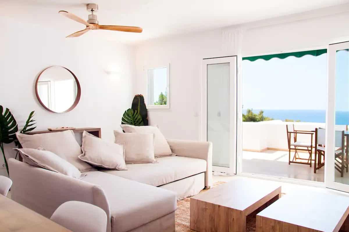 Airbnb avec vue sur la mer à Minorque