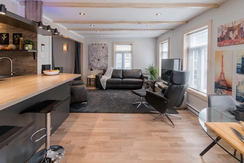 Superbe Appartement Airbnb à Québec