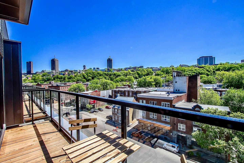 Superbe terrasse dans ce Airbnb à Québec