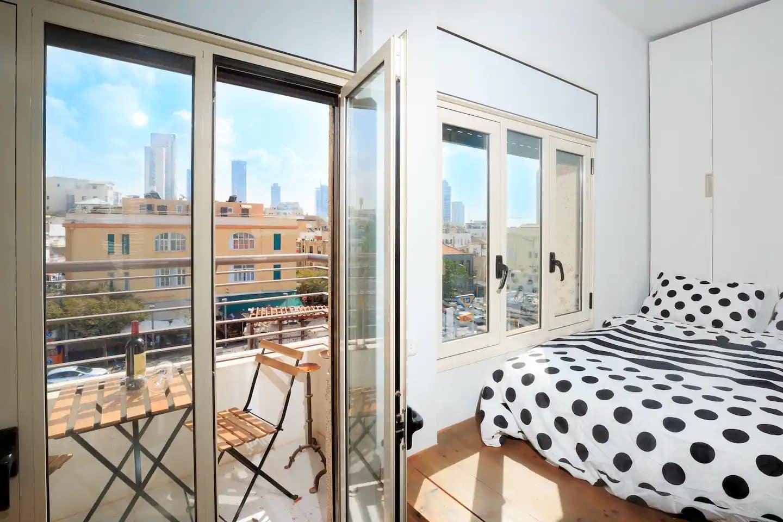 Appartement avec vue sur le Carmel Market
