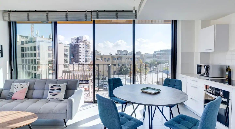 Superbe vue dans cet Airbnb à Tel Aviv