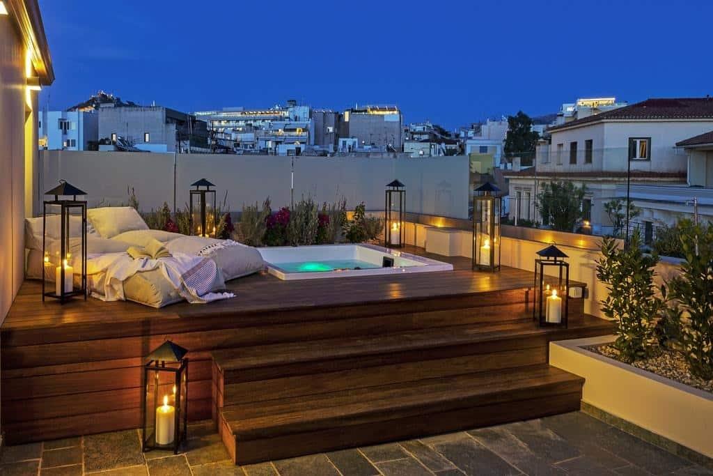 Un des meilleurs hôtels d'Athènes