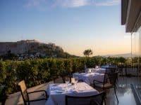 Superbe vue dans cet hôtel d'Athènes