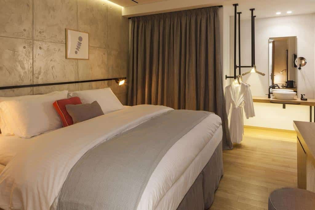 Chambre très cosy dans cet hôtel à Athènes