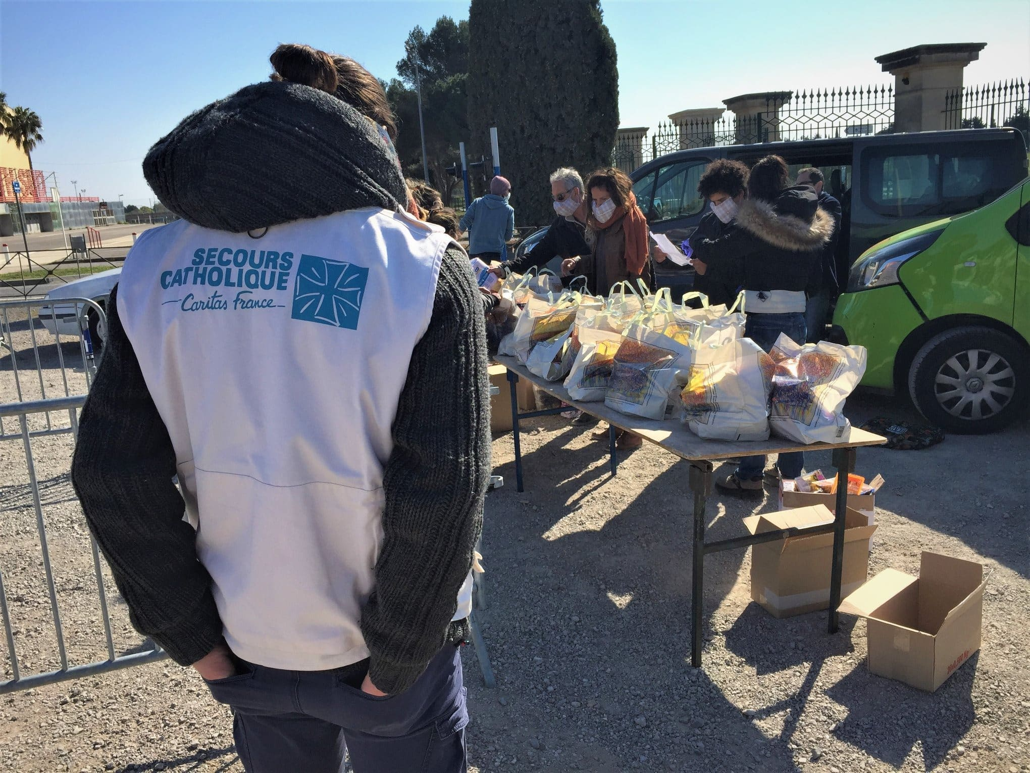 Secours catholique, bénévolat à Montpellier