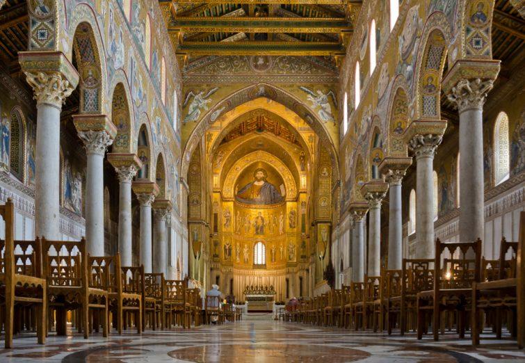 La cathédrale Santa Maria Nuova, Monreale