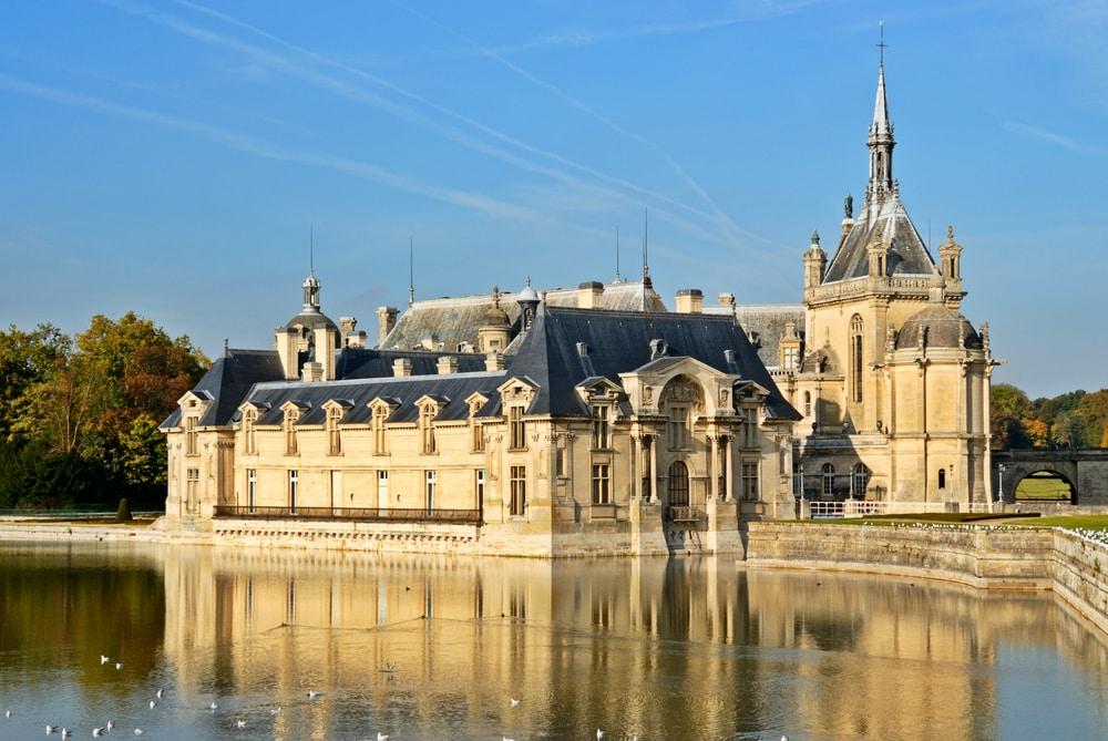 Chateau-chantilly-plus beaux château de France