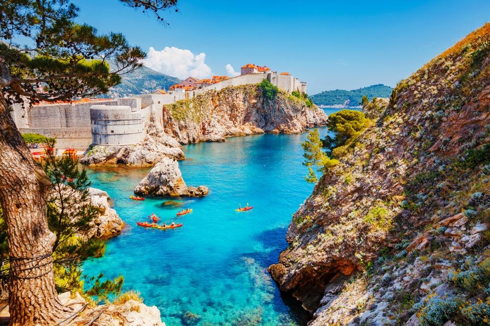 Magnifique ville en Croatie