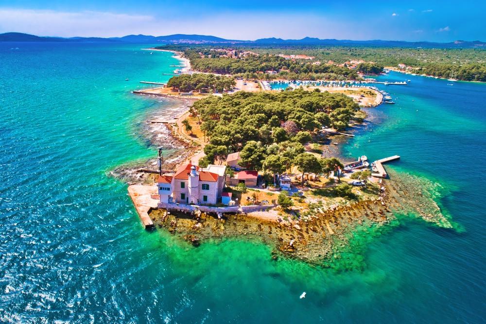 L'archipel de Šibenik en Croatie