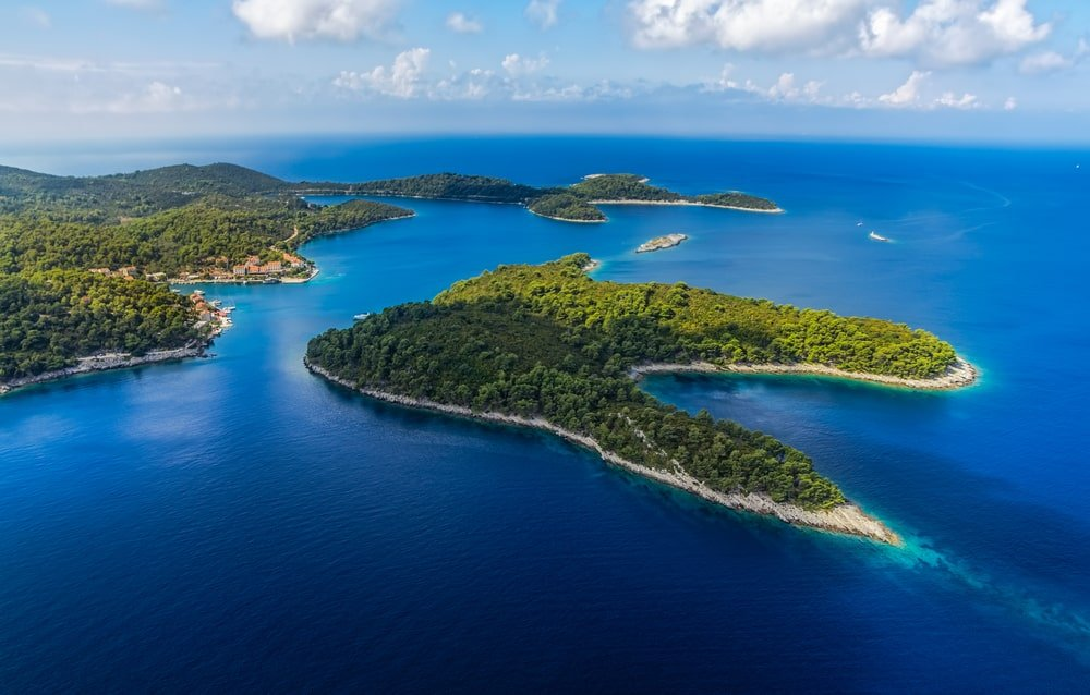 Jolie petite île en Croatie