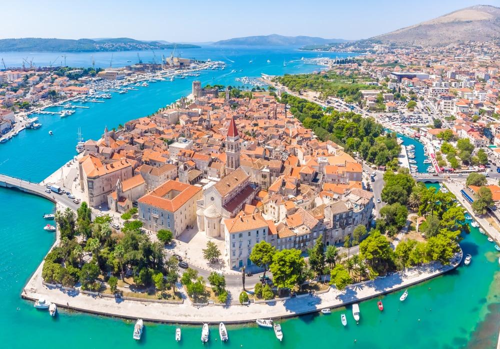 Jolie ville en Croatie