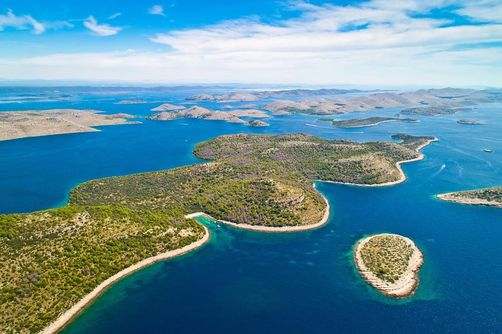 Les iles Kornati - Parc national en Croatie