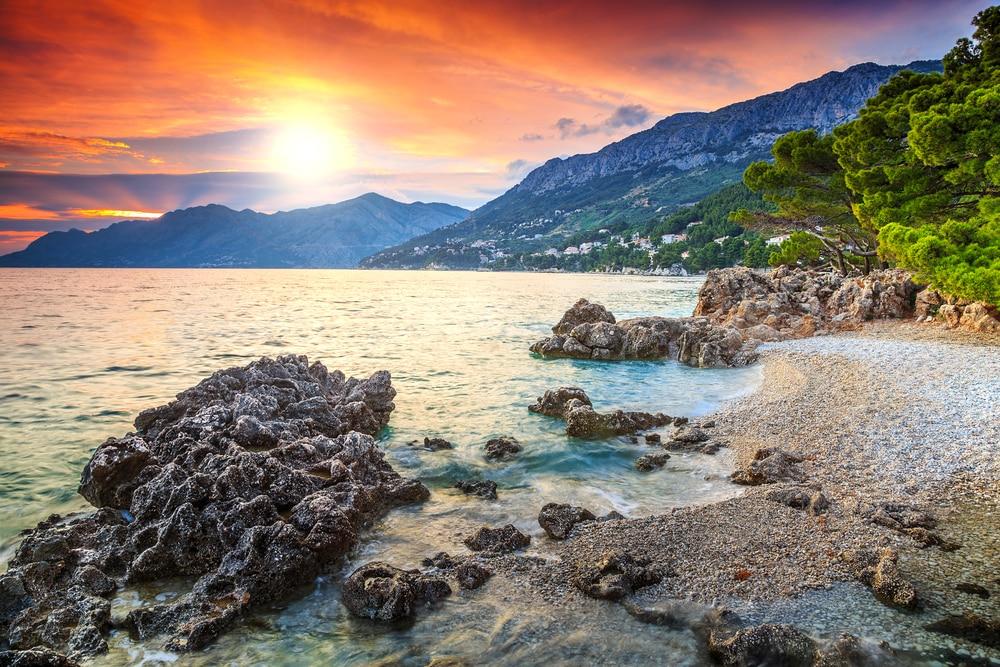Magnifique vue en Croatie