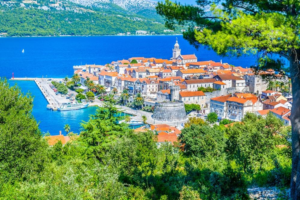 Superbe île en Croatie