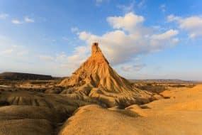 Le désert des Bardenas en Camping-Car : location, conseils, aires, itinéraires